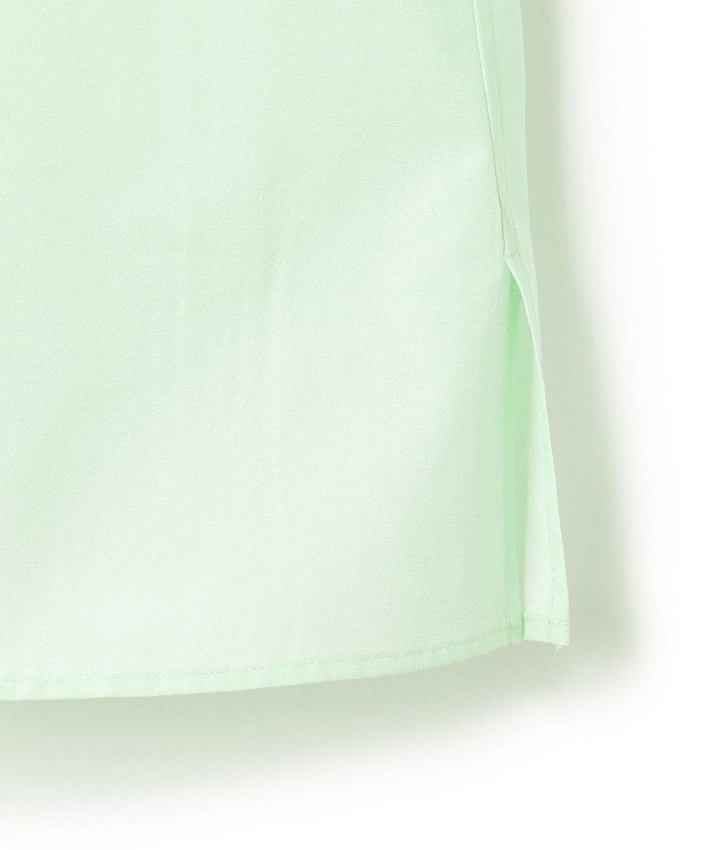 23区 【23区 lab.】ハイカウントブロード デザイン ブラウス(番号S53) ライトグリーン系