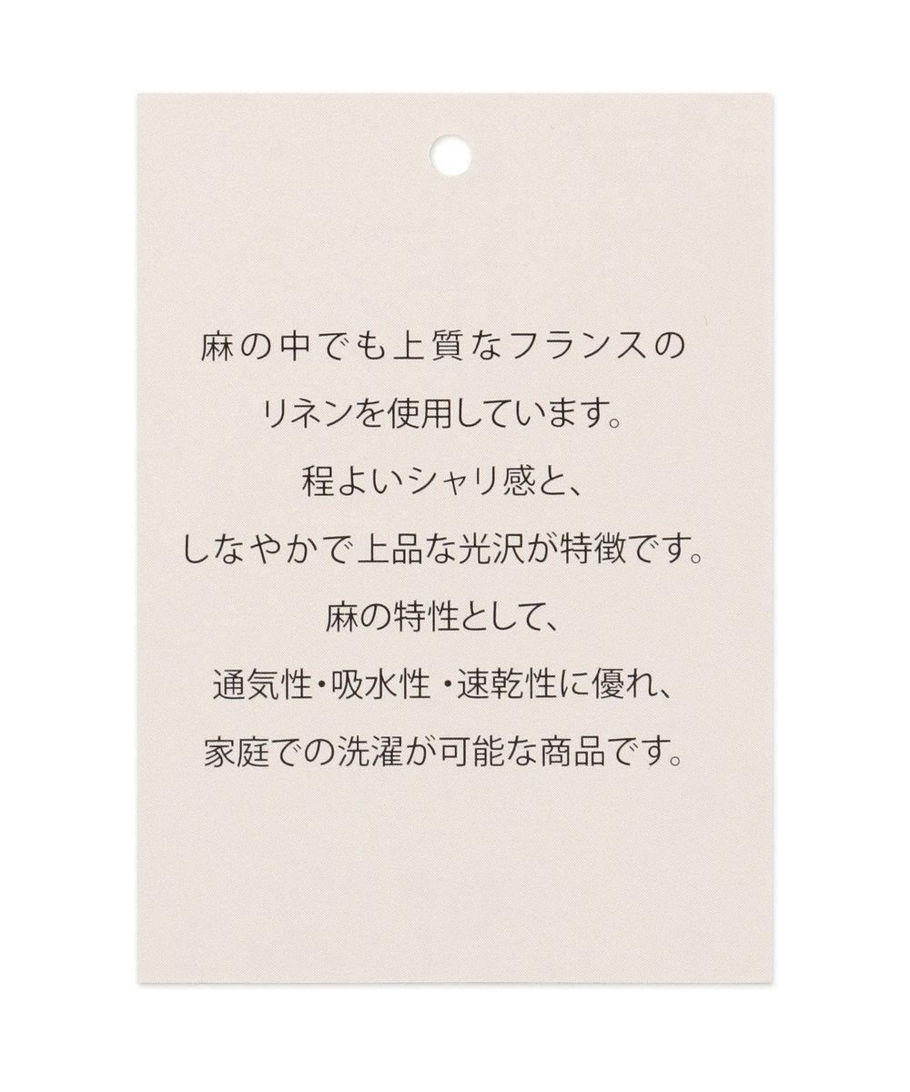 any FAM 【シワになりにくい】ウォッシャブルリネン ブラウス ブラック系5