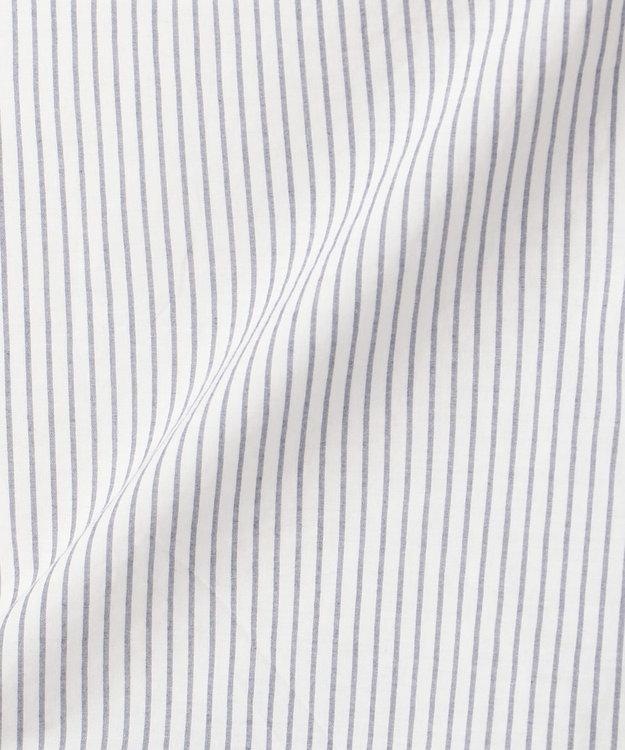 any FAM L 【WEB限定】ストライプバックレース刺繍 ブラウス