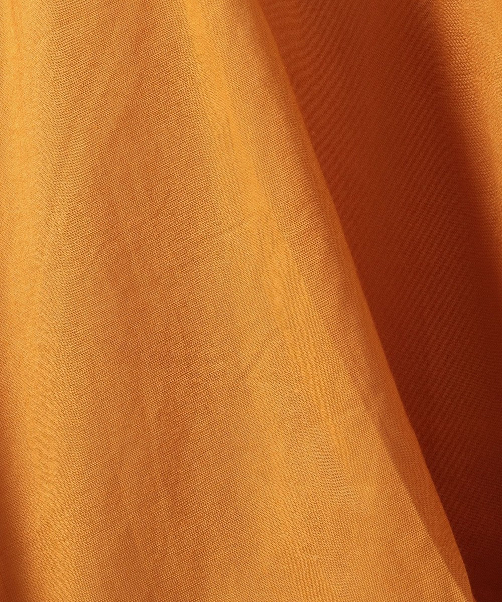 any FAM コットンローンバルーン袖 ブラウス オレンジ系