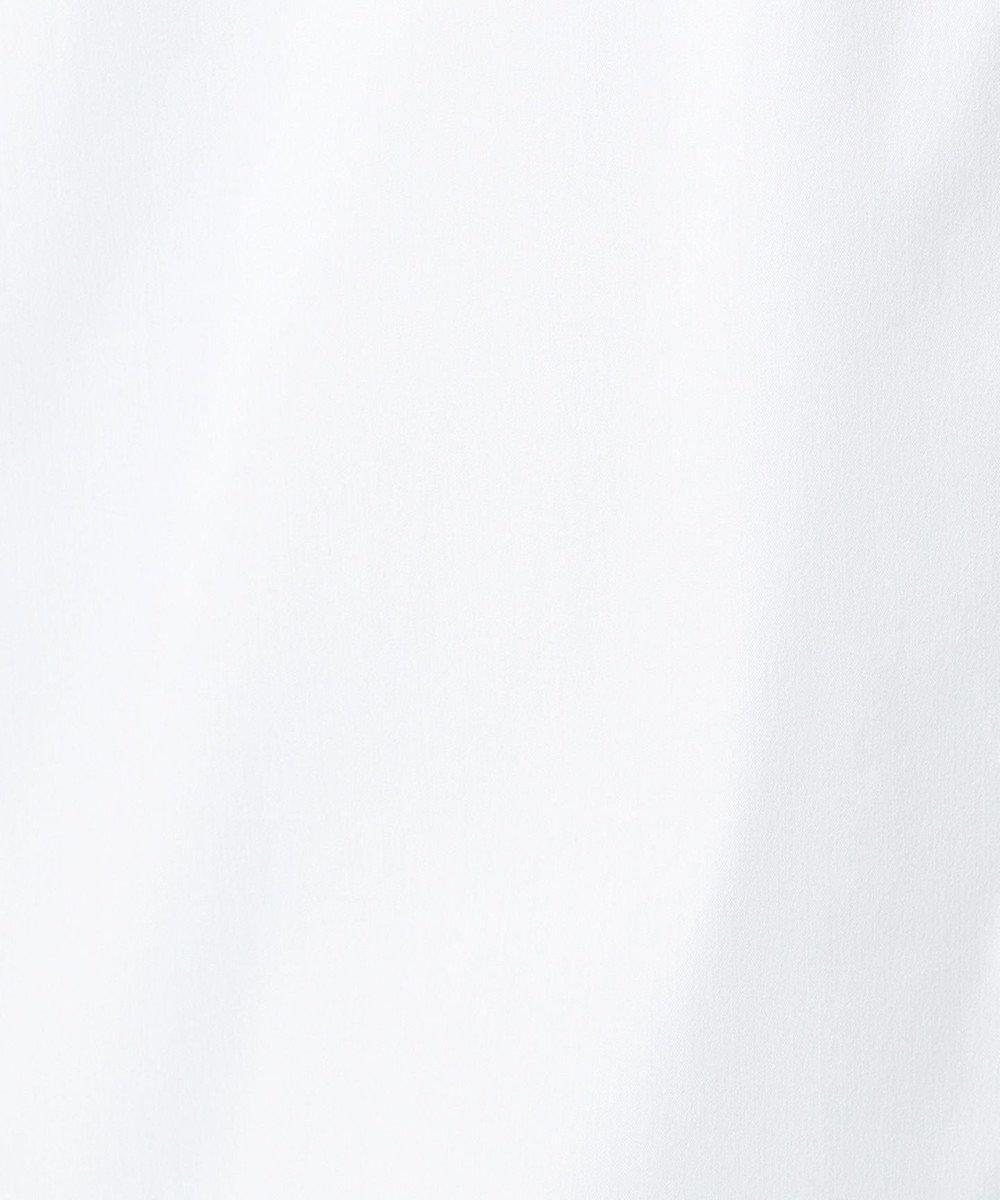J.PRESS LADIES S 【伸縮性素材】SOMELOS JOYCE レギュラーカラー ブラウス ホワイト系