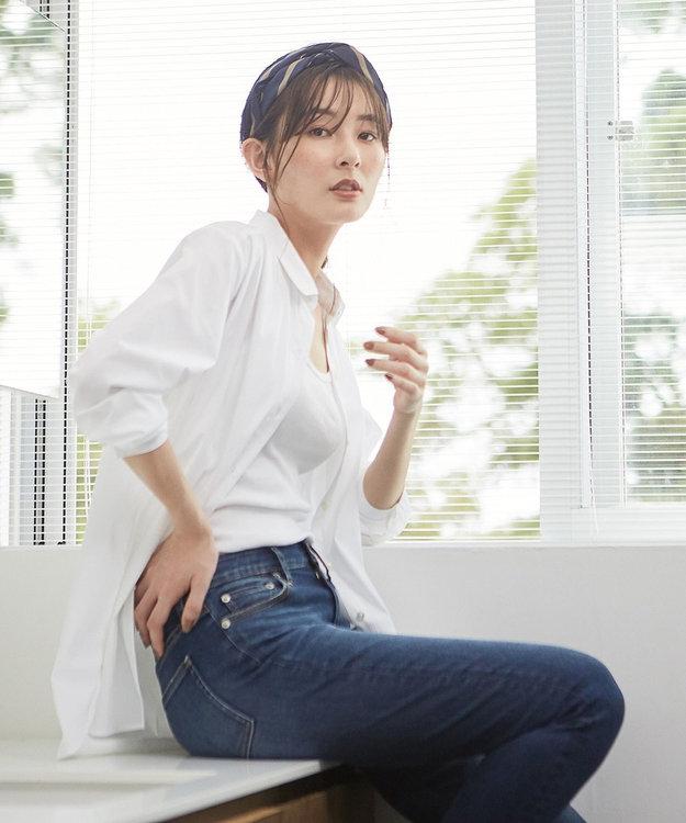 J.PRESS LADIES S 【伸縮性素材】SOMELOS JOYCE レギュラーカラー ブラウス