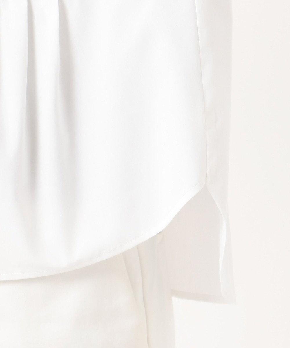 J.PRESS LADIES S 【洗える】T/Rポプリン ブラウス ホワイト系