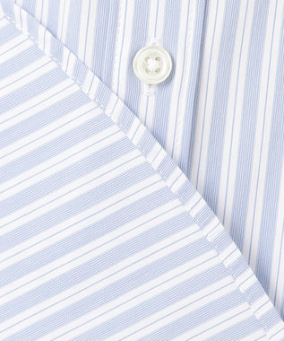 J.PRESS LADIES 【洗える】SOMELOS JOYCE レギュラーカラー シャツ サックスブルー系2
