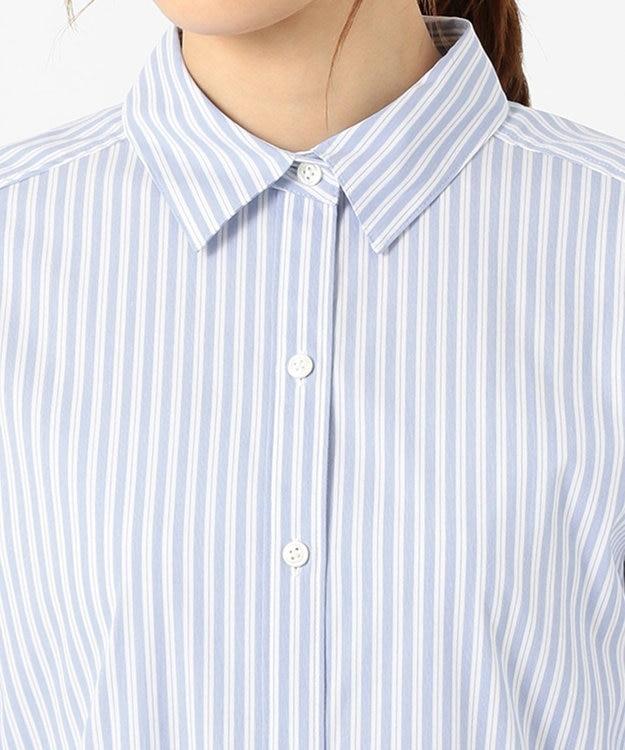 J.PRESS LADIES 【洗える】SOMELOS JOYCE レギュラーカラー シャツ