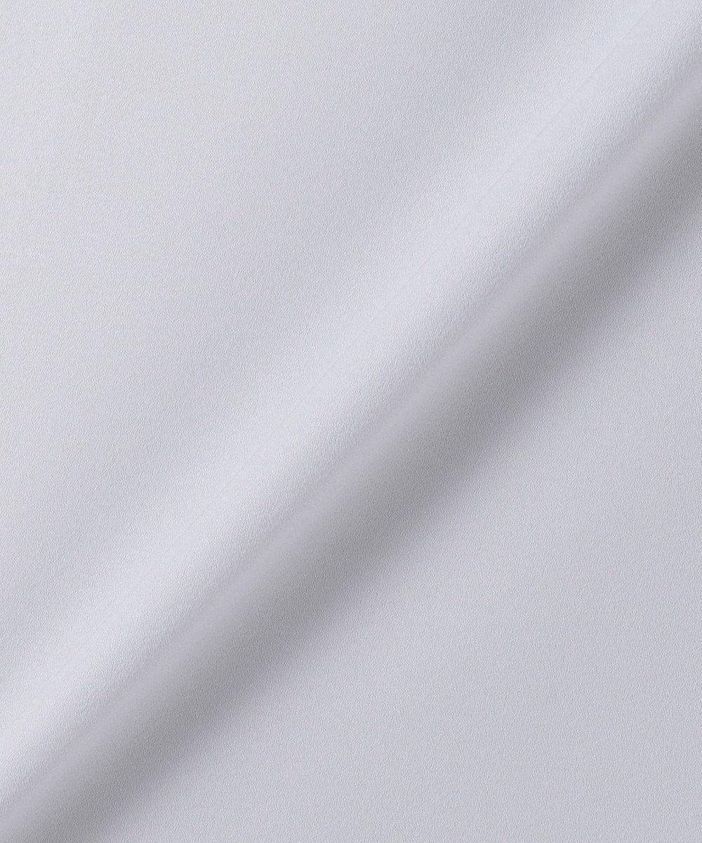 J.PRESS LADIES 【洗える】ポリエステルピーチソリッド ブラウス(無地) アイボリー系