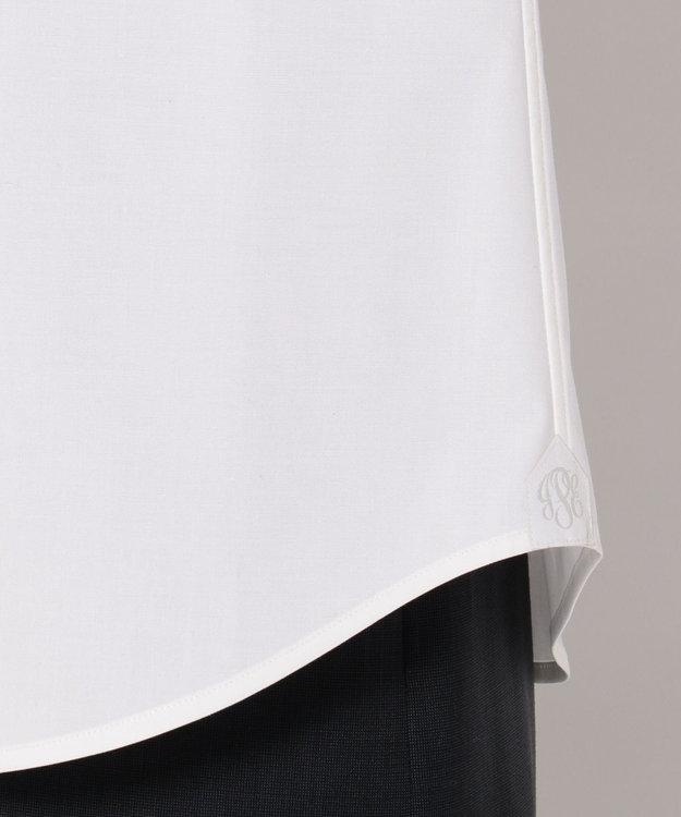J.PRESS LADIES L 【洗える!】コットンハイパワーブロード レギュラーカラーシャツ