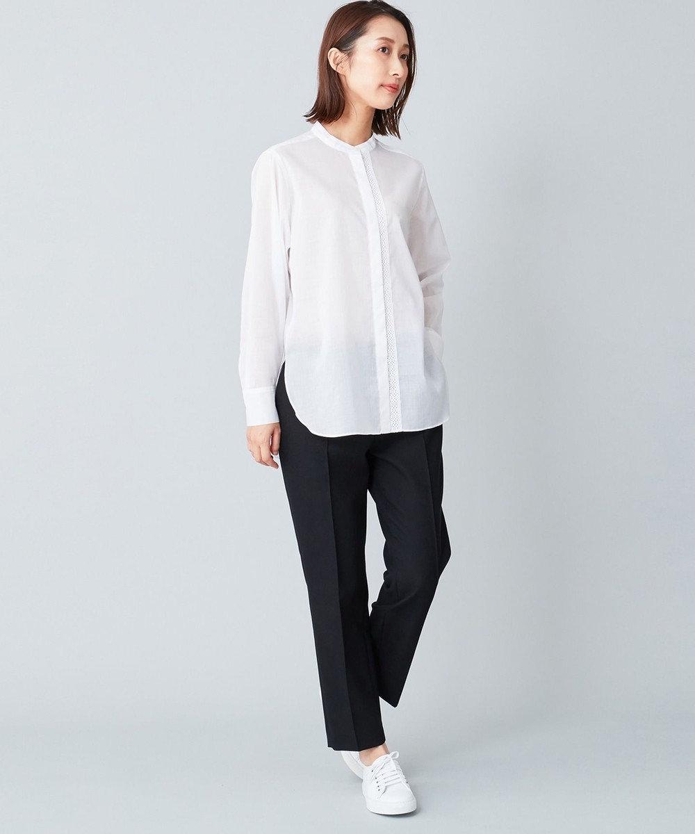 JOSEPH 【JOSEPH STUDIO・洗える】ピクセルシャツ ブラウス ホワイト系