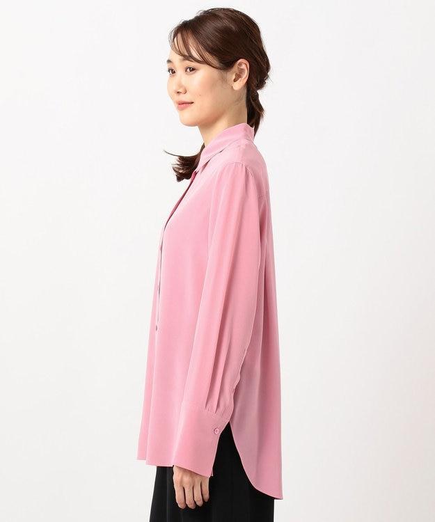 JOSEPH 【洗える】マットシルクデシン / シャツ ブラウス