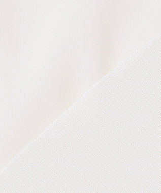JOSEPH 【洗える】ストレッチサテン Vネック ブラウス アイボリー系