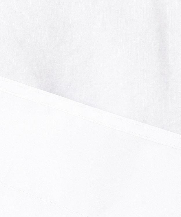 23区 【SLOW】コットン ノーカラー シャツ