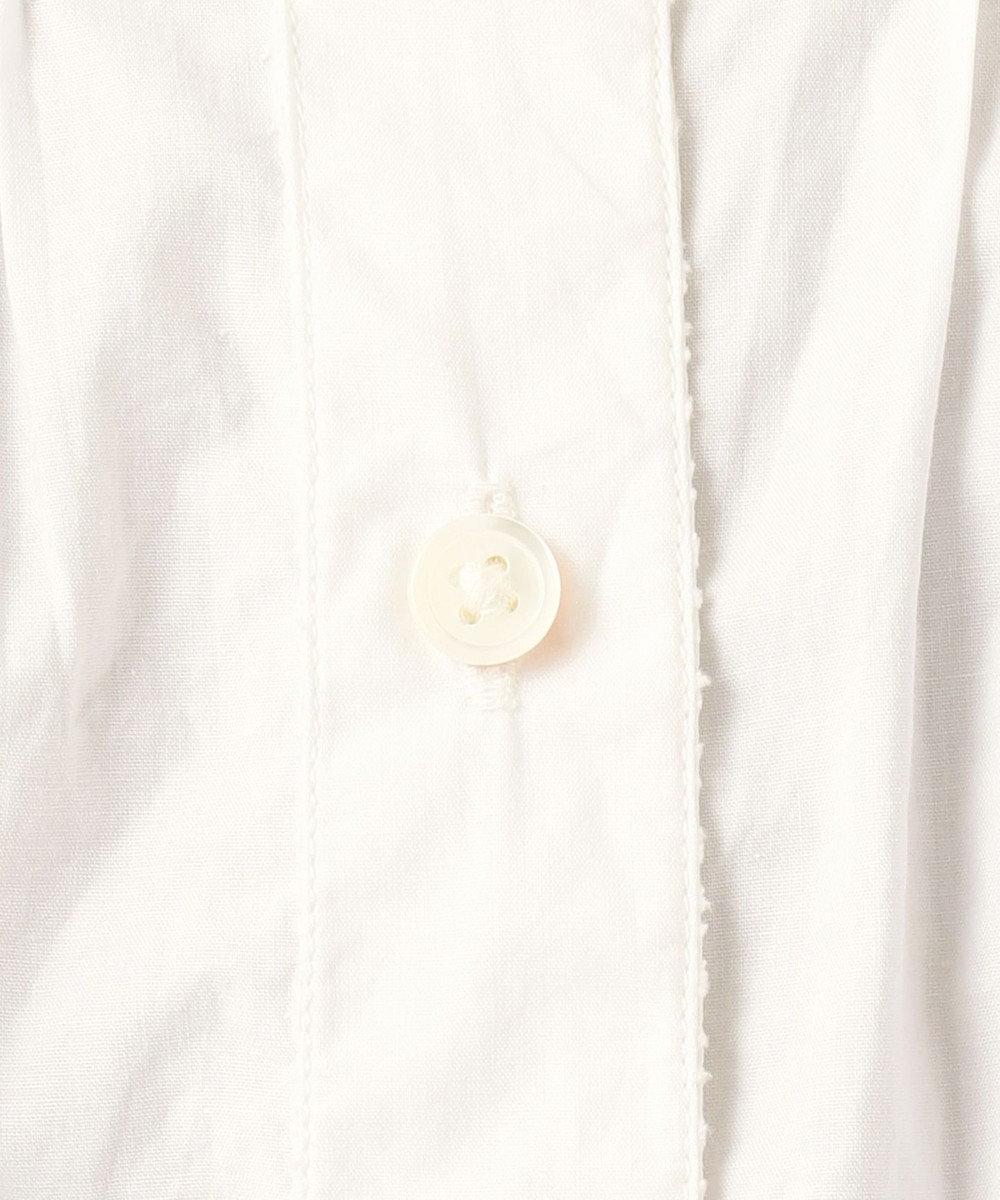 23区 【SLOW】カットワーク コットンブラウス ホワイト系