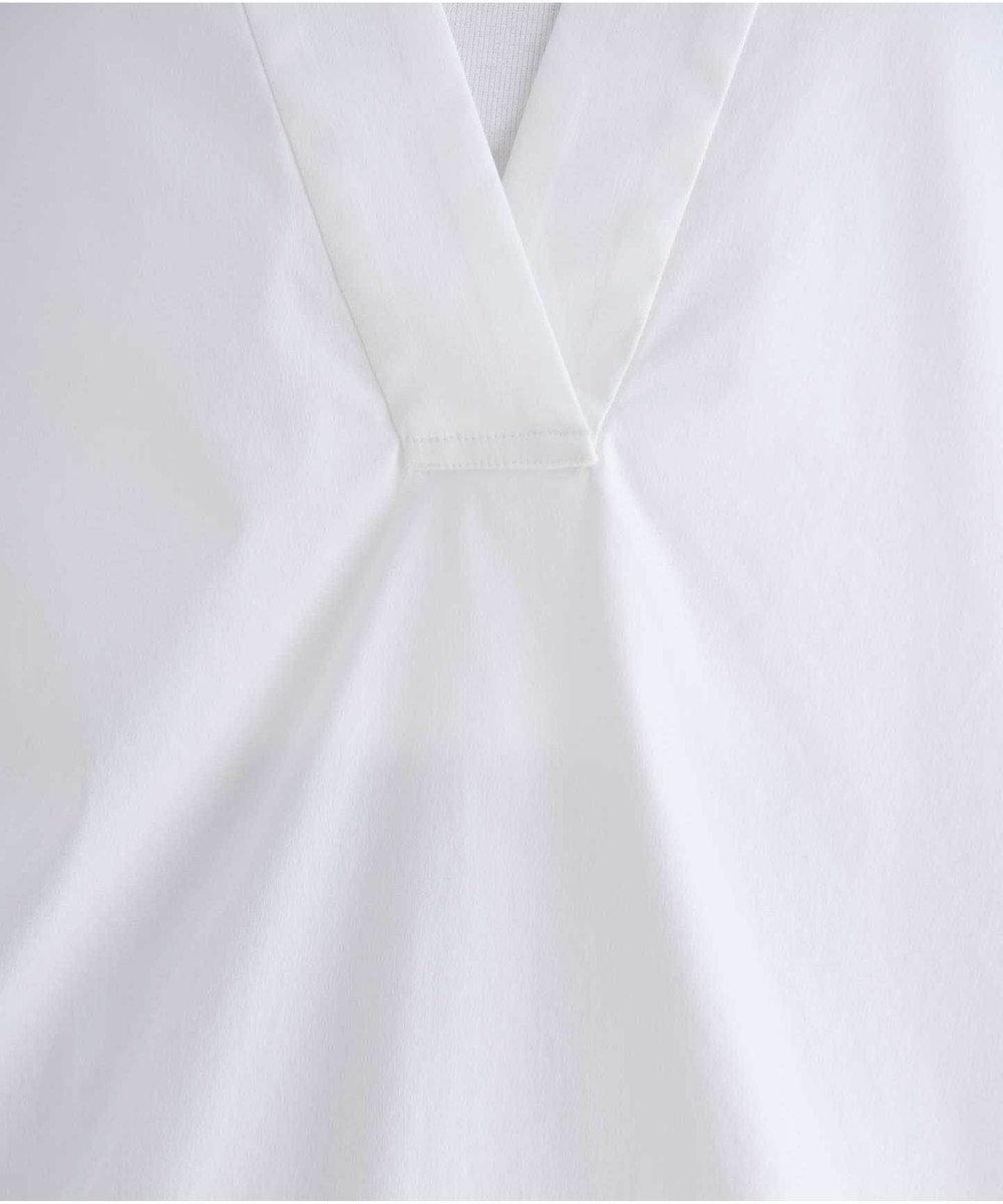 #Newans 【マガジン掲載】SOPHIE/ カフタンカラーシャツ(番号NF49) ホワイト系