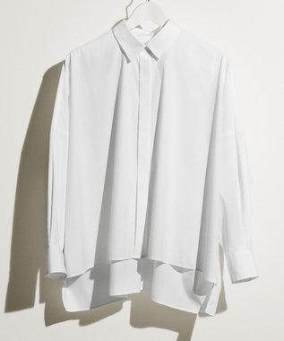 #Newans 【マガジン掲載】SOPHIE/ ワイドワイズシャツ(番号NE25) ホワイト系
