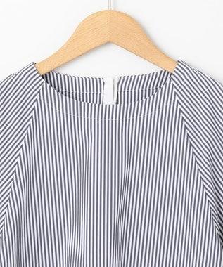 #Newans 【マガジン掲載】SOPHIE/ デフォルメスリーブシャツ(番号NF22) ネイビー系1