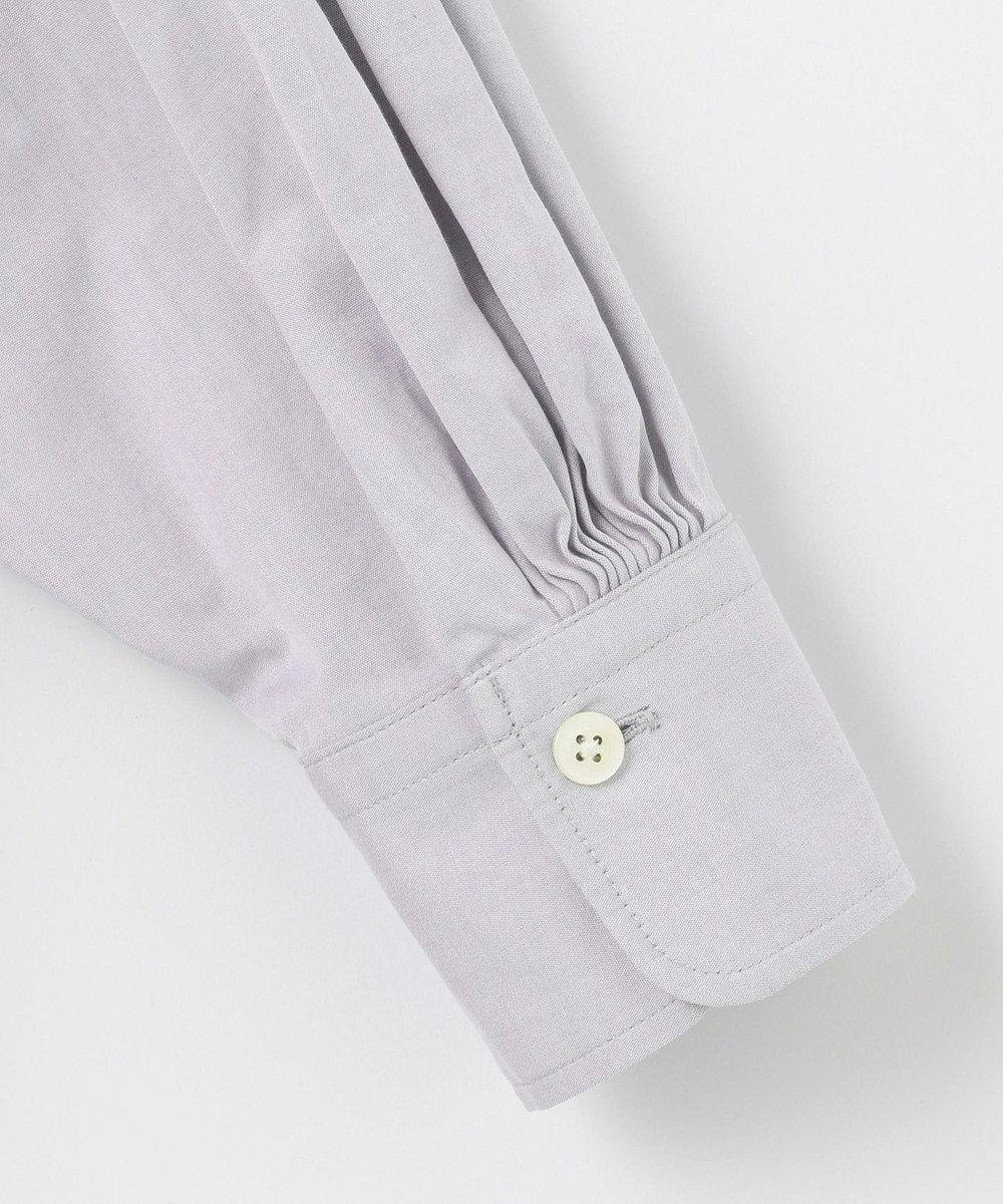 #Newans 【マガジン掲載】AUDREY/ バックオープンシャツ(番号47) グレー系