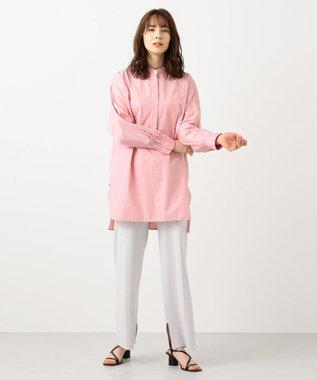#Newans 【マガジン掲載】AUDREY/ バックオープンシャツ(番号47) レッド系