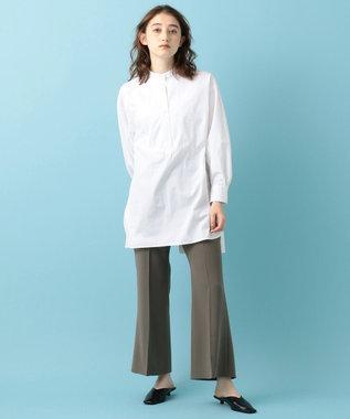 #Newans 【マガジン掲載】AUDREY/ バックオープンシャツ(番号47) ホワイト系