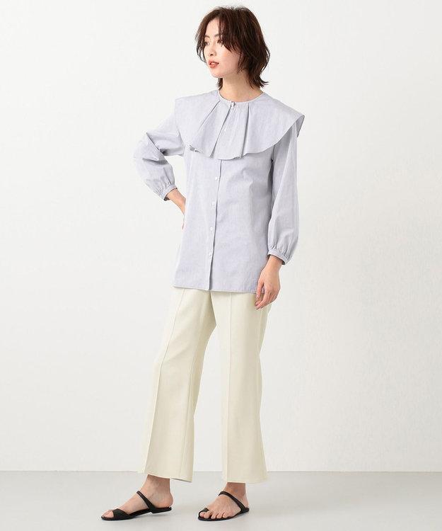 #Newans 【マガジン掲載】AUDREY/ ピーターパンカラーシャツ(番号NF24)