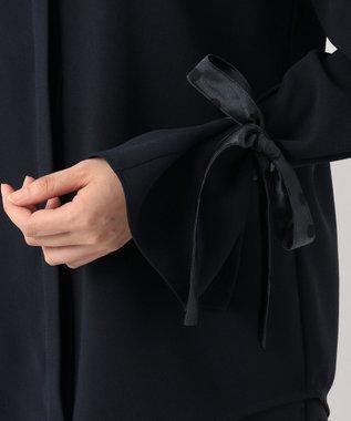 Paul Smith 【WEB限定・洗える】クレープアムンゼンウィズドットプリント ブラウス ネイビー系