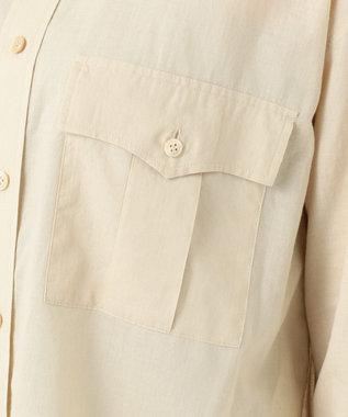 23区 【SLOW】COTTON LAWN シャツ ベージュ系