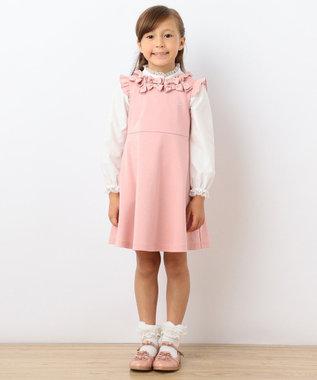 TOCCA BAMBINI 【KIDS】レーシーフリルカラー ブラウス ホワイト系