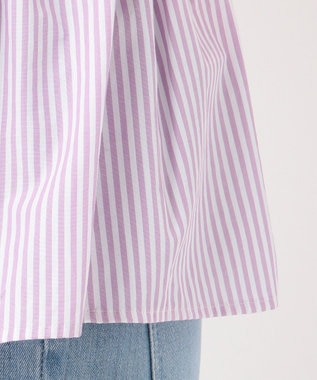TOCCA 【TOCCA LAVENDER】Stripe Embroidery ブラウス ライラック系1