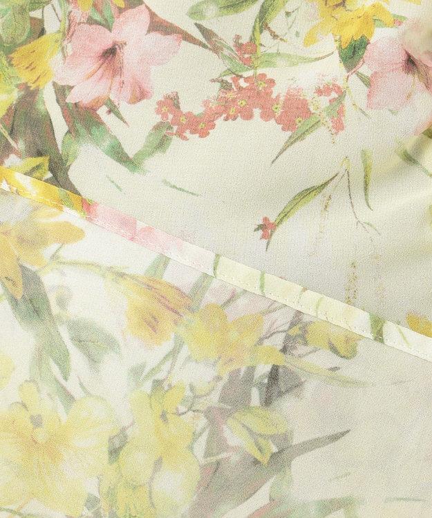 TOCCA 【TOCCA LAVENDER】Floral Chiffon ブラウス