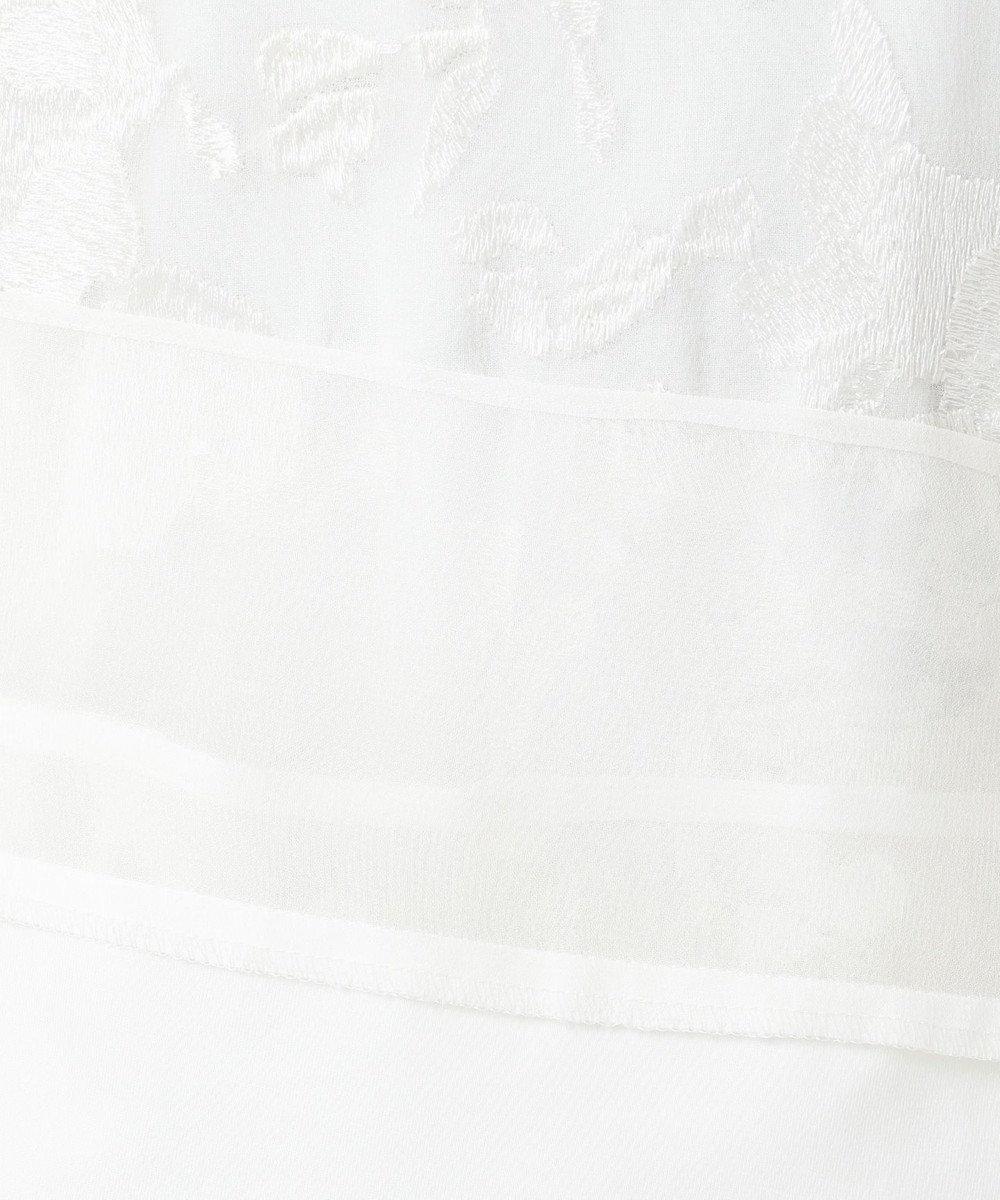 自由区 【Class Lounge】SEAGULL EMBROIDERY ブラウス(検索番号X28) ホワイト系