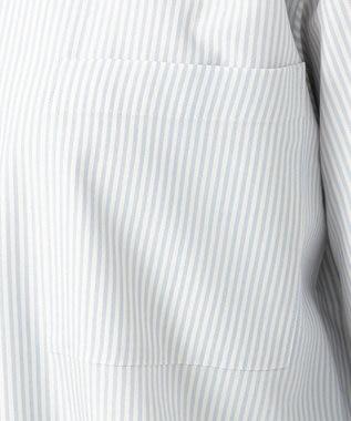 23区 【洗える】スパンシルク ブラウス スカイブルー系1