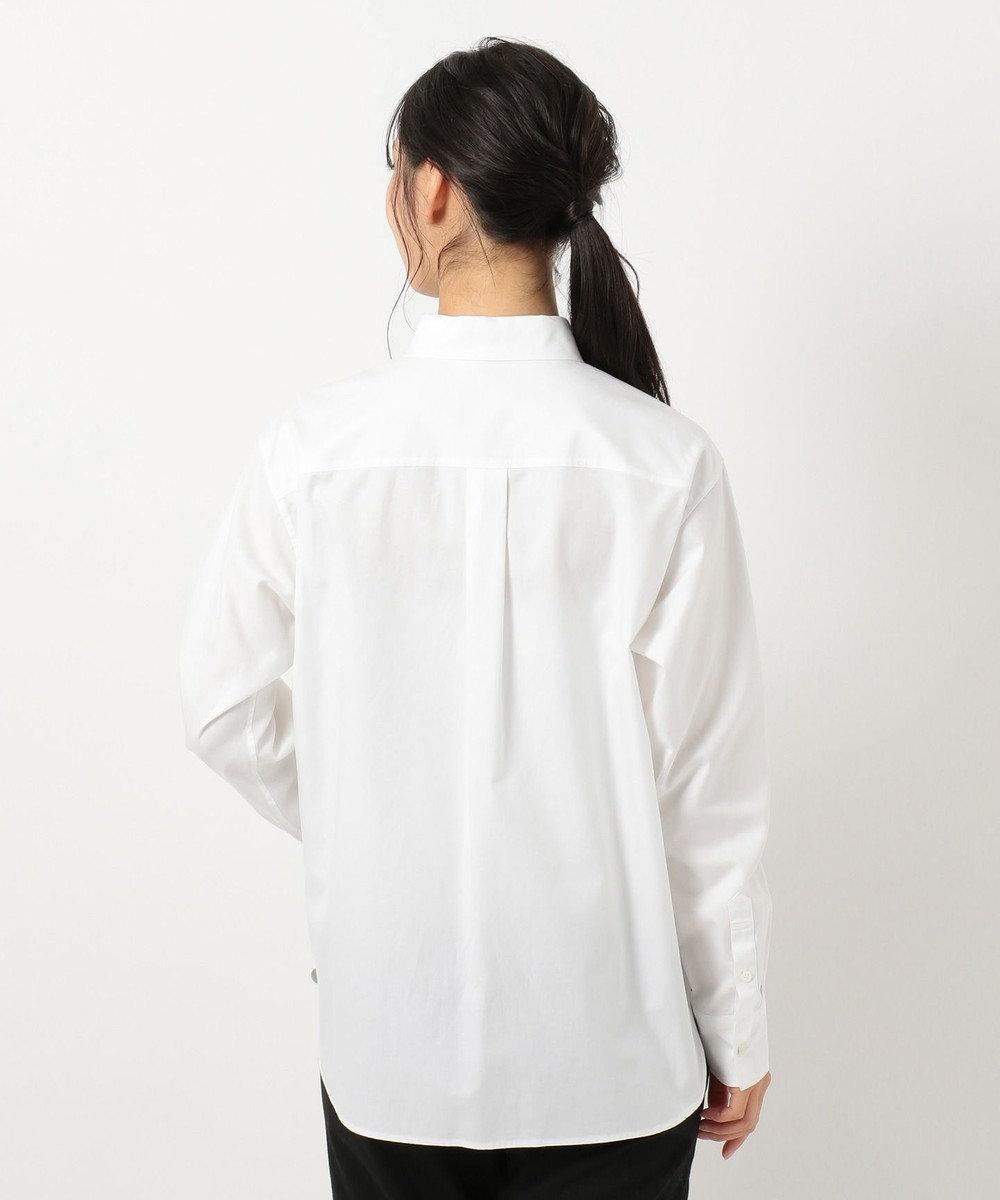 23区 L 【洗える】Cancliniチュニック シャツ ホワイト系