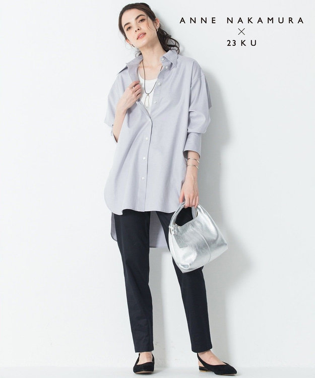 23区 L 【中村アンさんコラボ】Cancliniシルエット シャツ