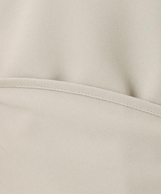 23区 L 【マガジン掲載】パウダリージョーゼット パールブラウス(検索番号F38)