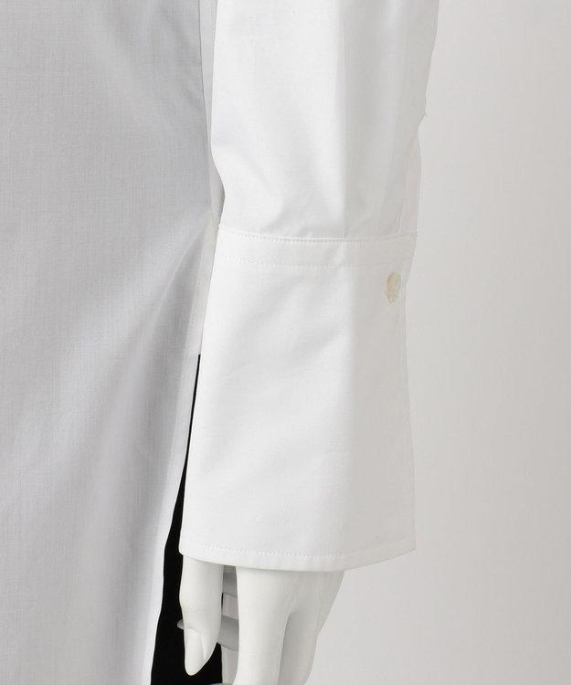 23区 【R(アール)】THOMAS MASON SHIRTING バンドカラーシャツ(検索番号R24)