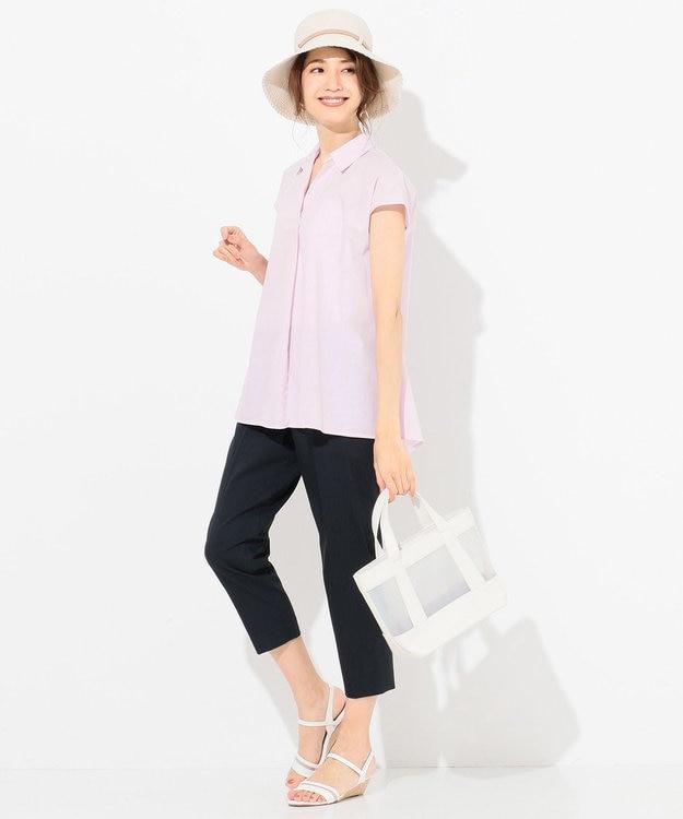 any SiS 【洗える】Aラインスキッパー ブラウス