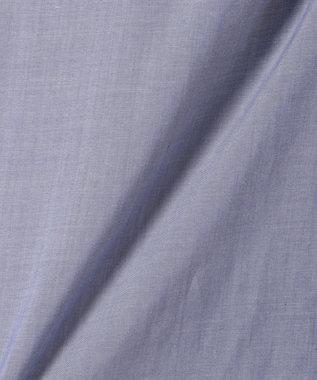 any SiS 【WEB限定色あり】テンセルライトクロス半袖 ブラウス ダルブルー系