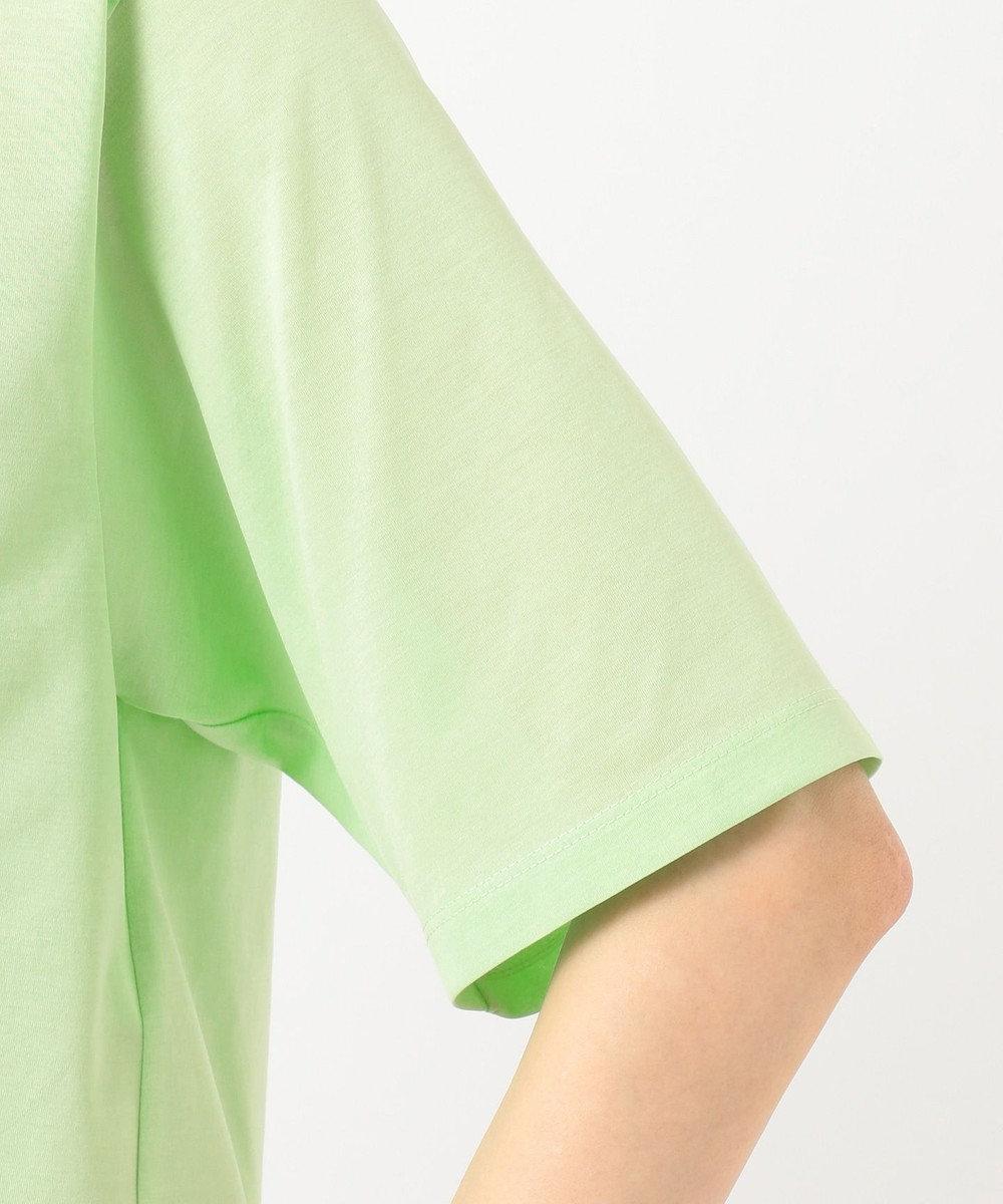 組曲 【Rythme KUMIKYOKU】ハイゲージジャージ ショート丈Tシャツ グリーン系