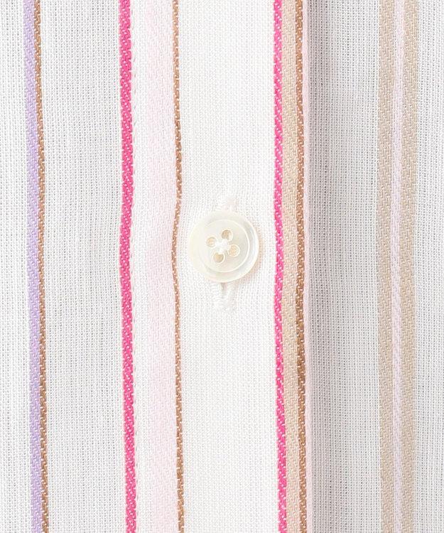 組曲 【洗える】SOMELOSマルチストライプ シャツ