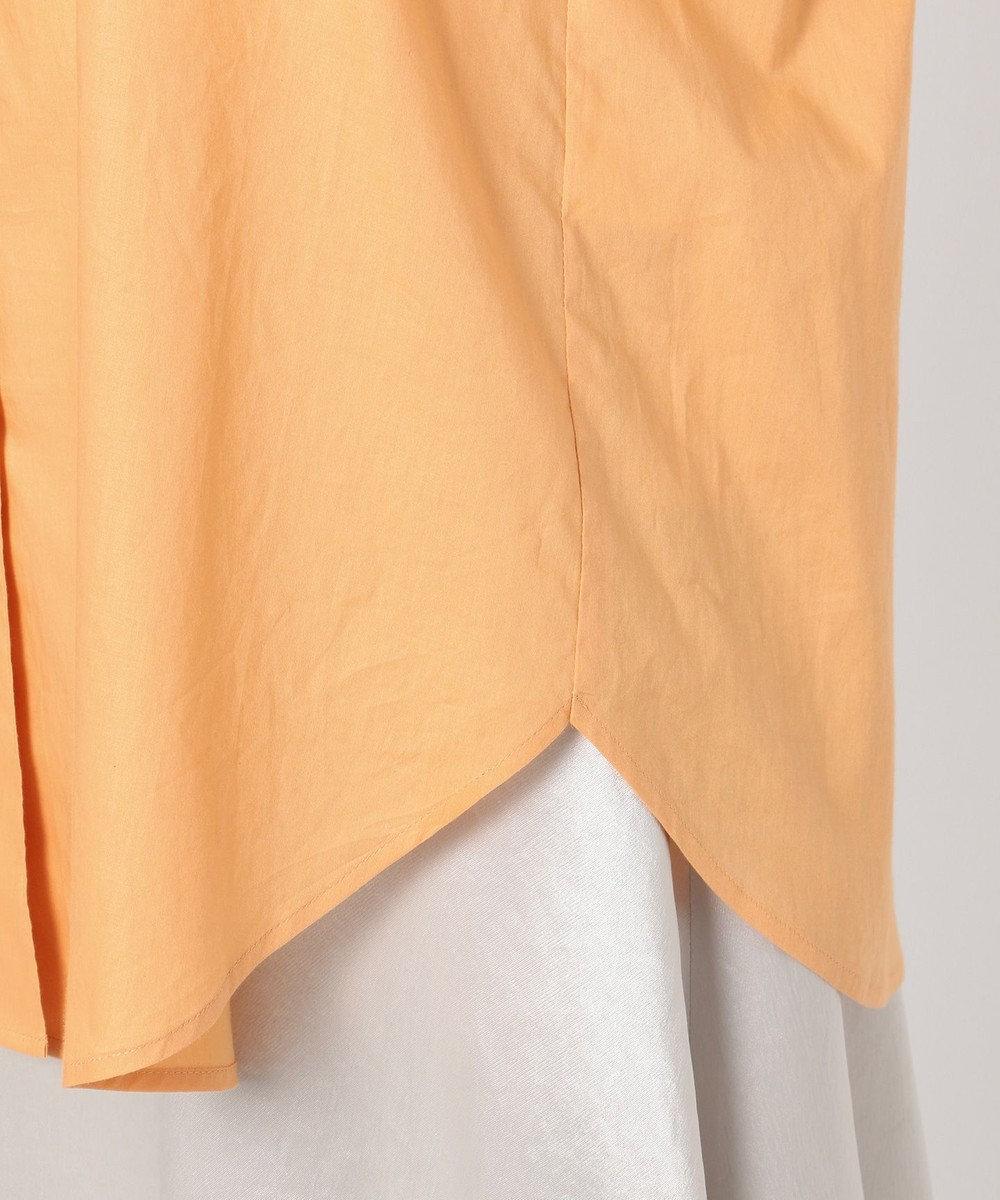 組曲 【Rythme KUMIKYOKU】カラーシャーティング ブラウス オレンジ系