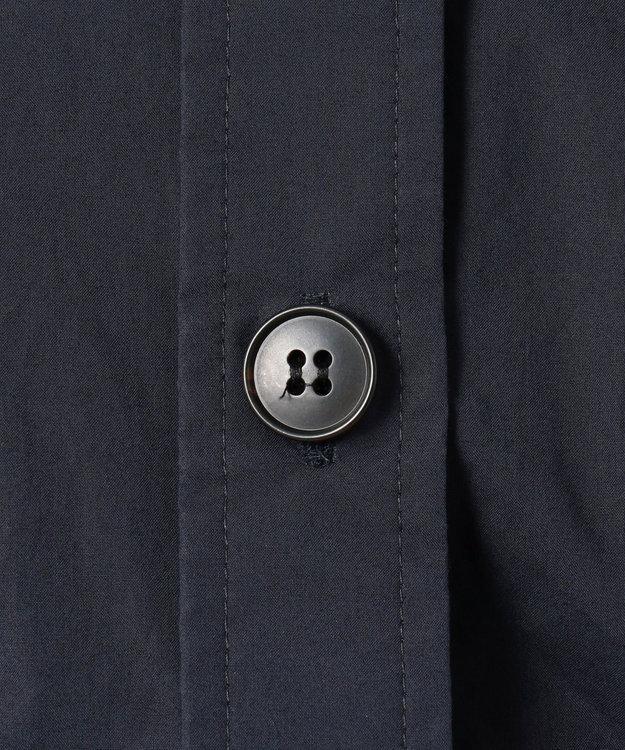 組曲 L 【洗える】コットンタイプライター ハオリシャツ