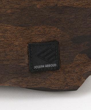 JOSEPH ABBOUD 【JOSEPH ABBOUD MOUNTAIN】インターレースカモフラージュ バッグ ダークブラウン系7