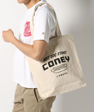 J.PRESS MEN 【CONEY】 キャンバス トートバッグ ホワイト系