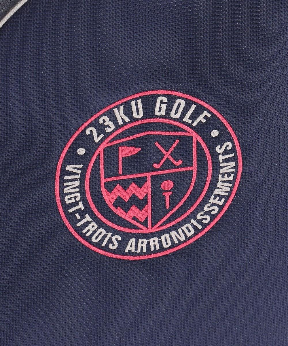 23区GOLF 【UNISEX】キャスター付き キャディーバッグ ネイビー系