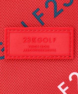 23区GOLF 【UNISEX】モノグラム カートバッグ レッド系5