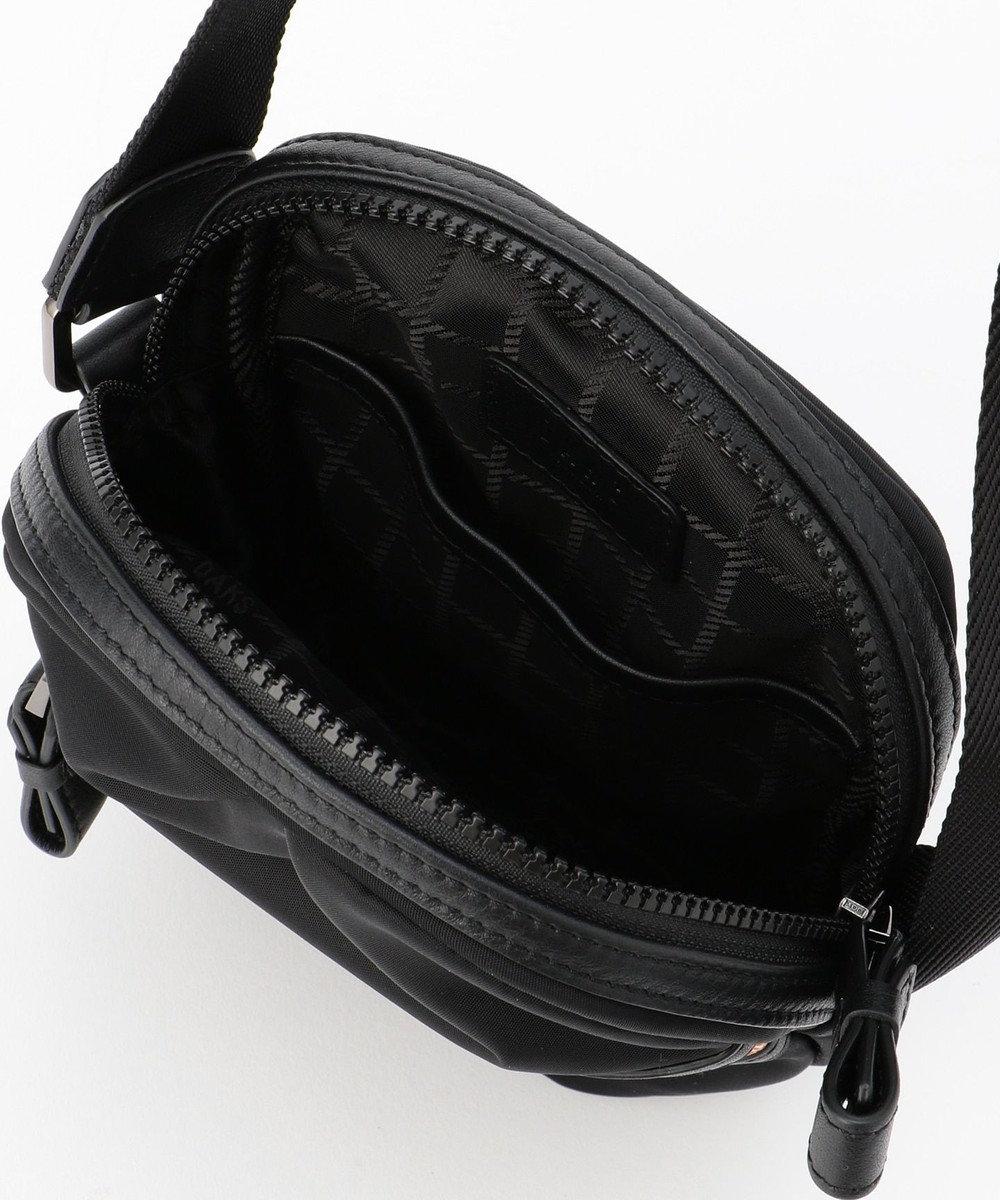 DAKS 【限定展開】ナイロン ラウンドミニショルダーバッグ ブラック系