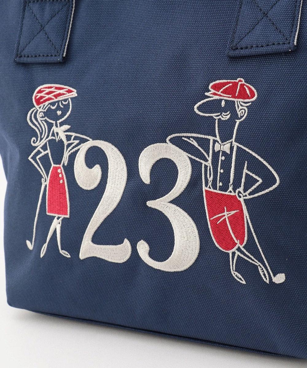23区GOLF 【WOMEN】23周年記念デザイン カートバック ネイビー系