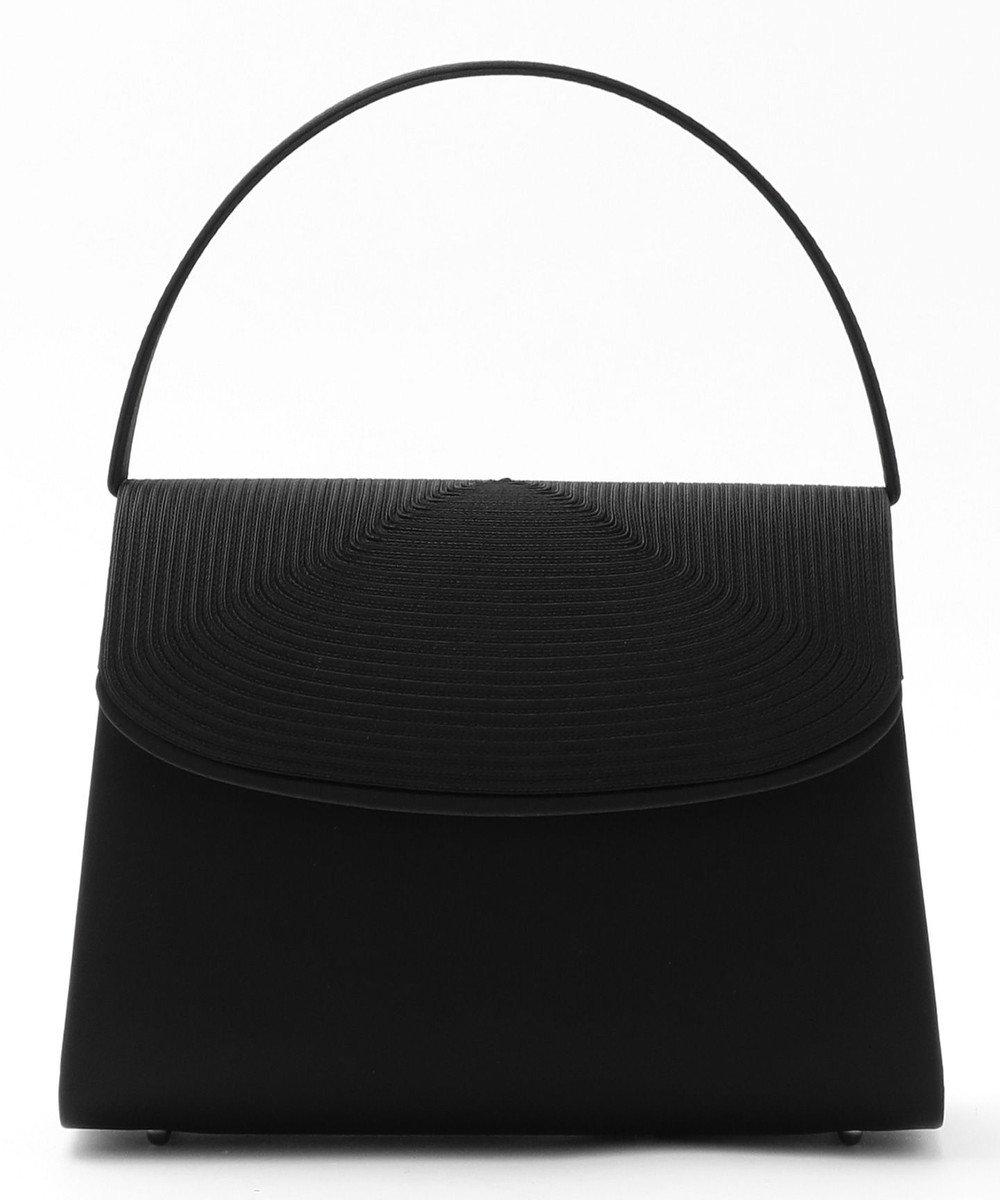 自由区 FORMAL コード刺繍バック ブラック系