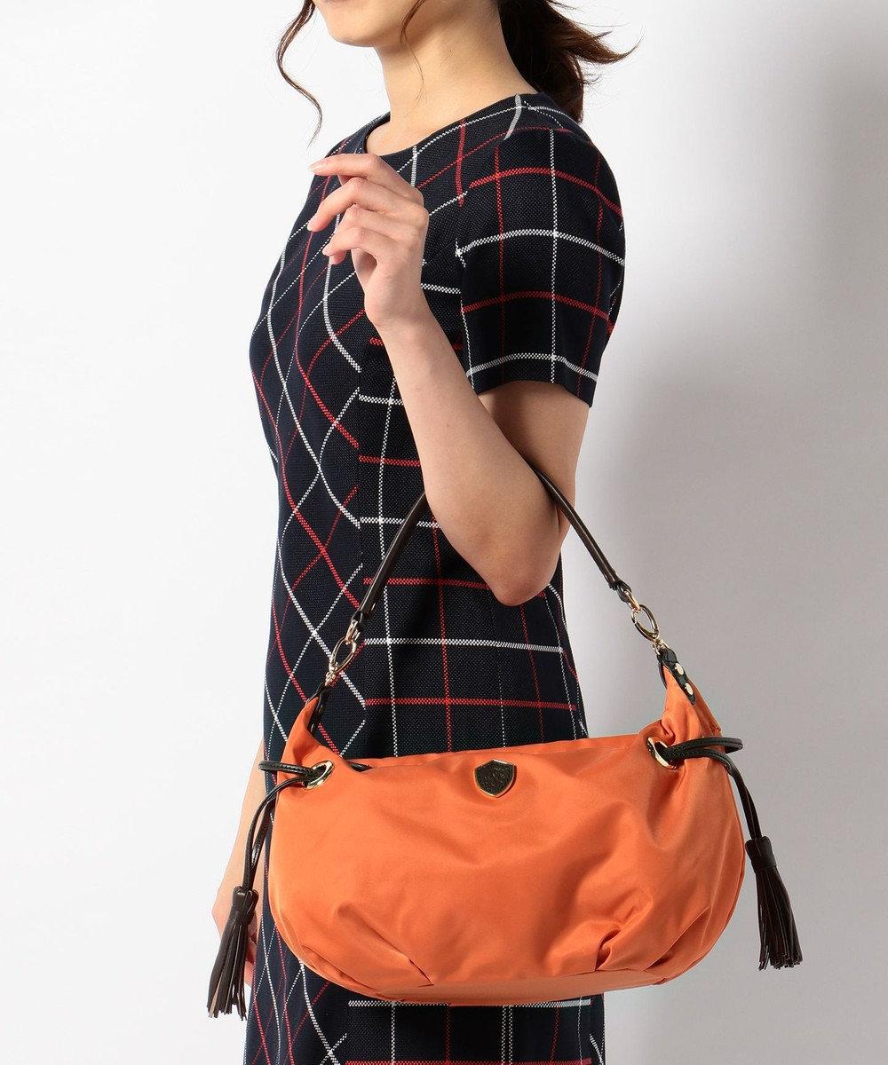 J.PRESS LADIES 【春新作・新カラー】2WAYナイロンショルダー オレンジ系