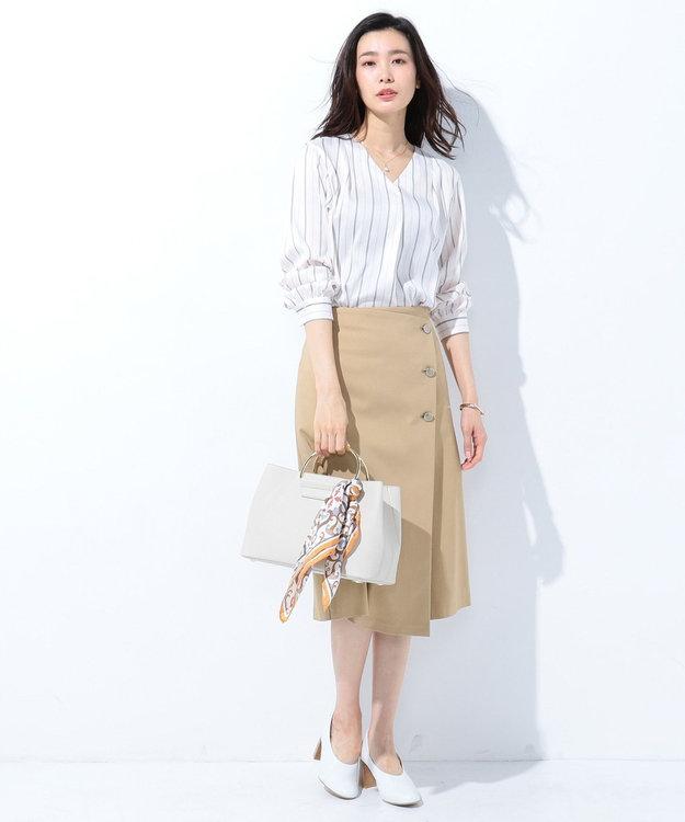 J.PRESS LADIES 【2way】3ポケットトートバッグ