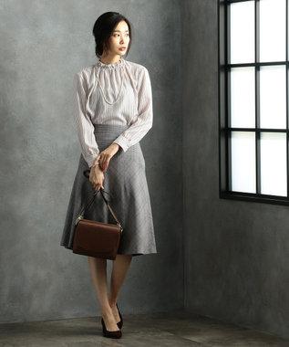 J.PRESS LADIES 【3WAY】ANGELO MELE ショルダーバッグ ブラウン系